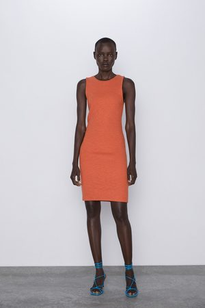 Zara Kokerjurk met textuur