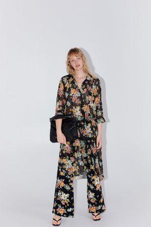 Zara Jurk met bloemenprint