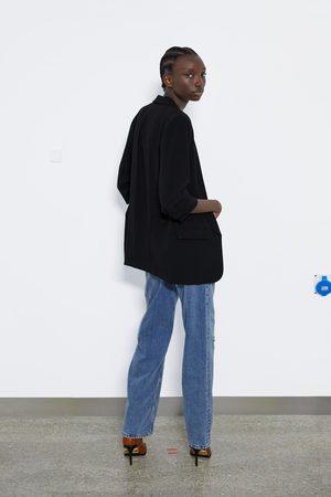 Zara Blazer met oprolbare mouwen