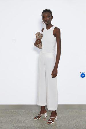 Zara Broek met hoge taille
