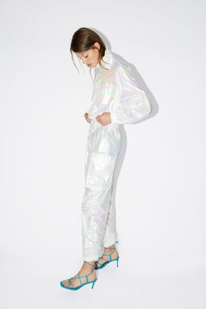 Zara Broek met iriserend effect