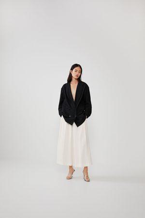 Zara Rustieke culotte-broek