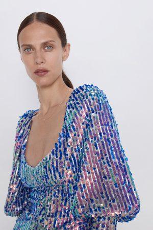 Zara Mini-jurk met lovertjes in limited edition