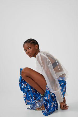 Zara Rok met print