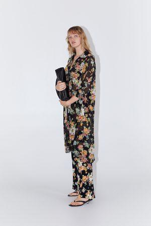 Zara Broek met bloemenprint