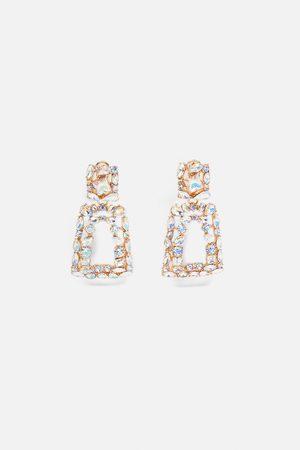 Zara Geometrische glanzende oorbellen