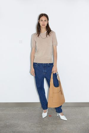 Zara Basic trui met korte mouwen