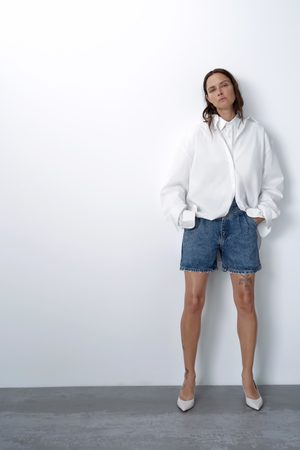 Zara Short '80s arizona blue