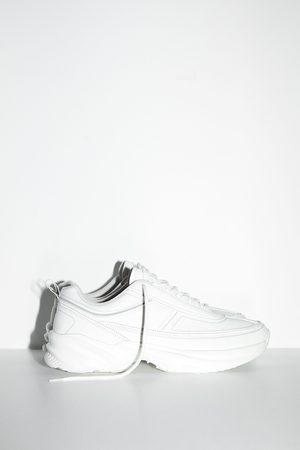 Zara Sneakers met dikke zool en reflecterende accenten