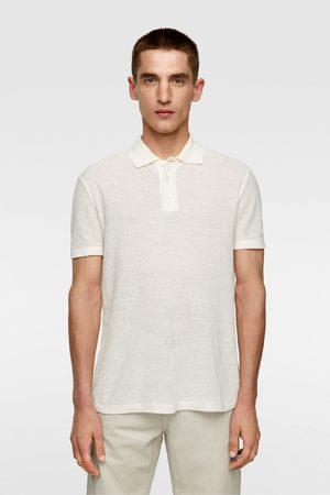 Zara Rustieke tricot polo