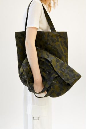 Zara Shopper met camouflageprint