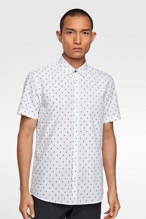 Zara Overhemd met bootjesprint