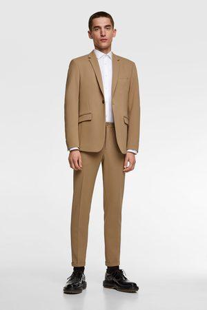 Zara Comfortabele kostuumblazer met structuur 'knit 4 ways