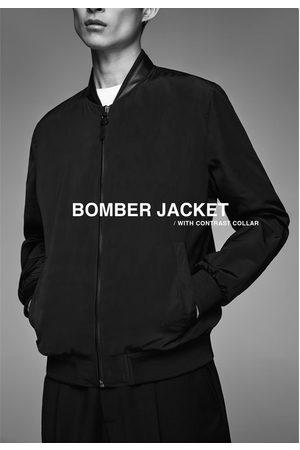 Zara Bomberjack met combi-kraag