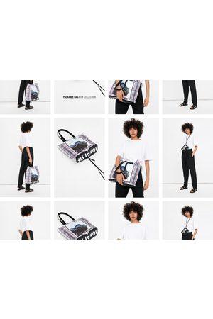 Zara Vouwbare shopper met afbeelding