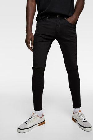 Zara Extra skinny jeans met scheuren