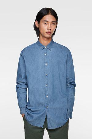 Zara Overhemd in slimfit met knoopjes