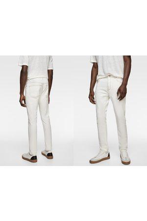 Zara Jeans met contrasterend sierstiksel