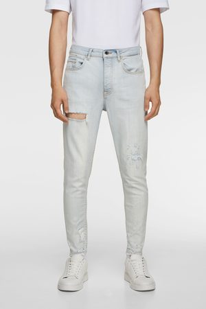 Zara Jeans in new carrot fit met scheuren