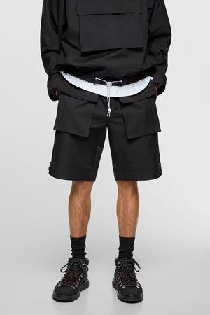 Zara Technische bermuda met zakken