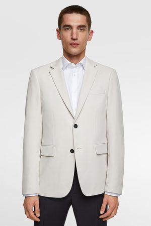 Zara Comfortabele blazer met structuur 'knit 4 ways