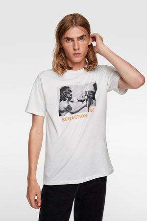 Zara T-shirt met fotoprint