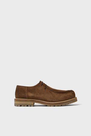 Zara Leren schoenen