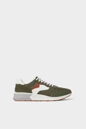 Zara Klassieke combi-sneakers