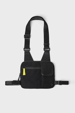 Zara Zwarte schouder- en heuptas in één