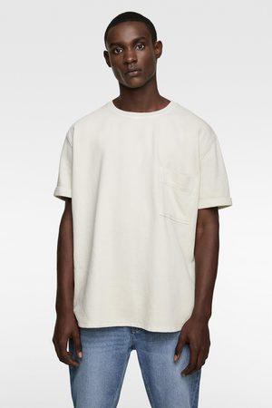 Zara T-shirt met structuur