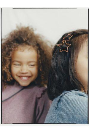 Zara Set van twee stervormige glanzende haarspeldjes