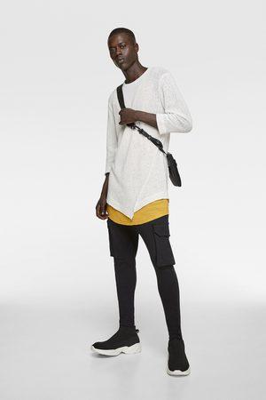 Zara Soepelvallend t-shirt met structuur