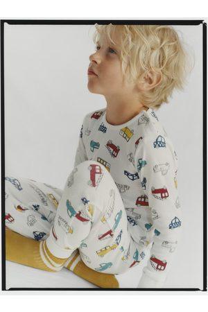 Zara Pyjama met auto's