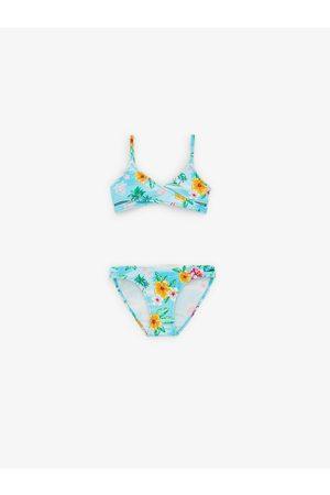 Zara Bikini met eilandprint