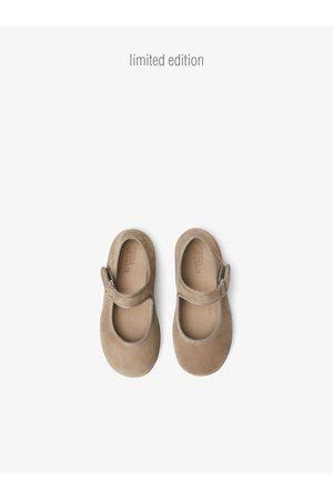 Zara Leren ballerina's