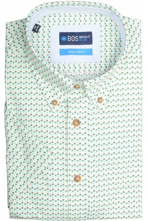 Bos Bright Blue Heren Casual - Wolf 19107WO04BO/361 sea green