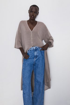 Zara Lang tricot vest