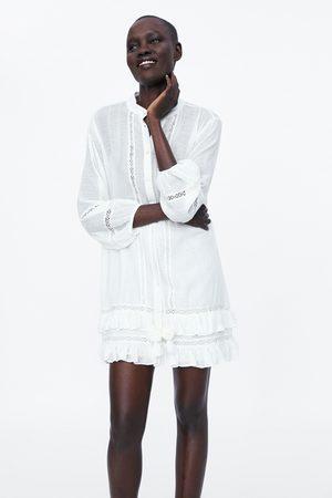 Zara Mini-jurk met volants