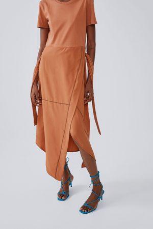 Zara Midi-jurk met stiksels