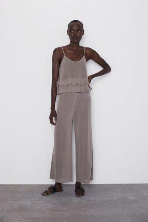 Zara Tricot culotte-broek
