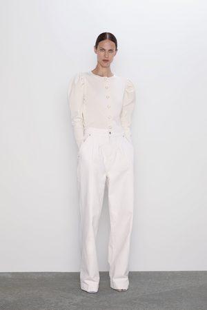 Zara Tricot vest met knopen