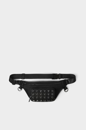 Zara Zwarte heuptas met studs
