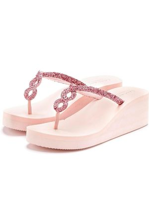 Lascana Dames Slippers - Teenslippers