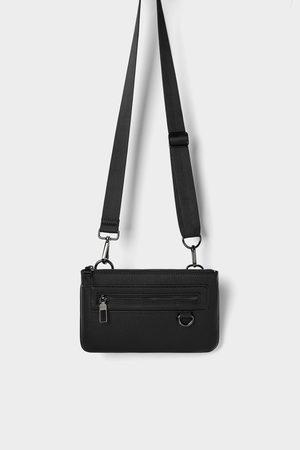 Zara Zwarte combineerbare mini-heuptas