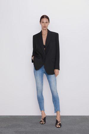 Zara Jeans zw premium '80s hoge taille old blue