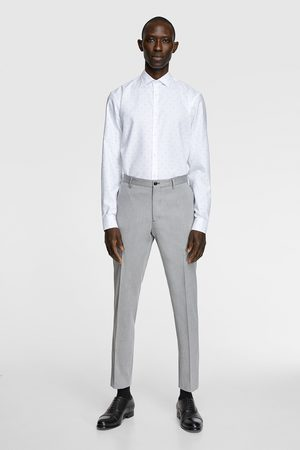 Zara Overhemd met structuur stain free