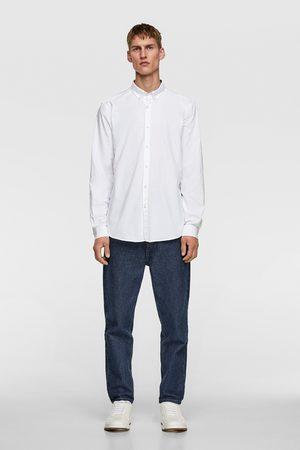 Zara Oxford overhemd met structuur