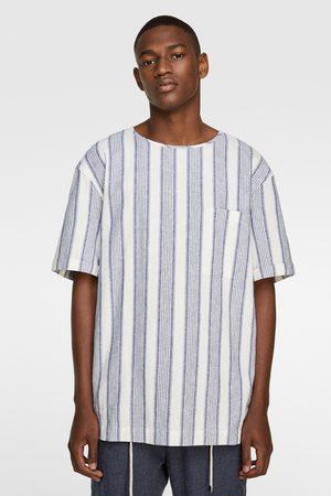 Zara Gecombineerd t-shirt met strepen