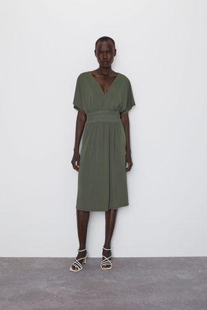 Zara Jurk met elastische taille