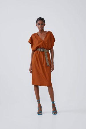 Zara Soepelvallende jurk